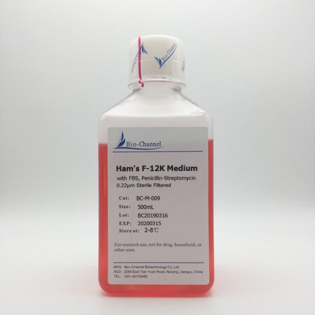 Ham's F-12K Medium (with FBS, Penicillin-Streptomycin)