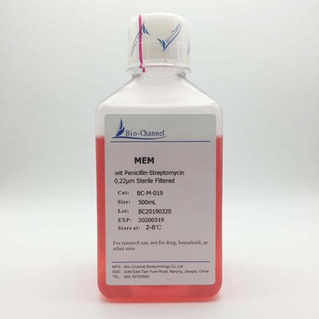 MEM (with Penicillin-Streptomycin)